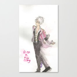 Viktor fading Canvas Print