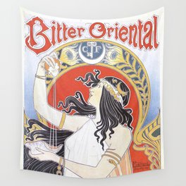 Bitter Oriental Wall Tapestry