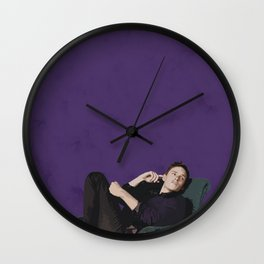 Eddie Redmayne 12 Wall Clock