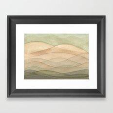 #42. DANIEL - Hills Framed Art Print