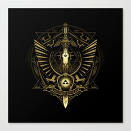 Zelda Sword Canvas Print