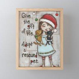 The Gift of Life - by stuDIo DUDA art Framed Mini Art Print