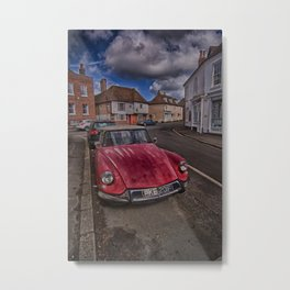 Citroens In Charing Metal Print