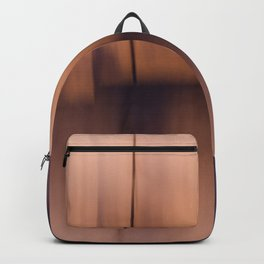 Rose Gold Abstract Horizon Backpack