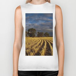 Golden Harvest Biker Tank