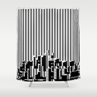 akira Shower Curtains featuring Akira (J)-7 (2011) by Max Capacity