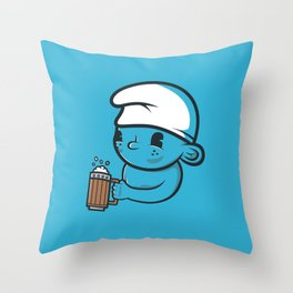Beer Time! Throw Pillow