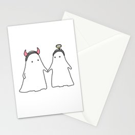 heaven and heck Stationery Cards