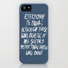 Equal iPhone Case