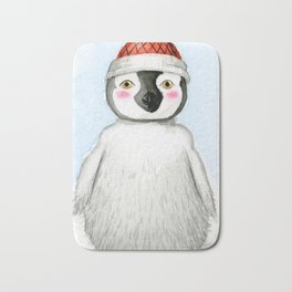 Cute Little Penguin Bath Mat