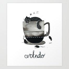Cortado Art Print