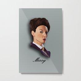 Hey Missy!  Metal Print