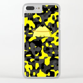 Military Lemon Clear iPhone Case