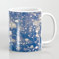 snow Mugs featuring Snow by Loaded Light Photography