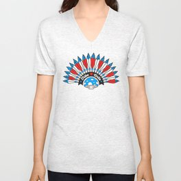 Tribal Patriot Unisex V-Neck