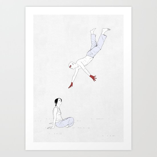rescue party Art Print