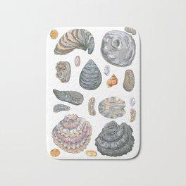 Normandy's shells Bath Mat