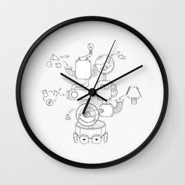 How the creative brain works? Wall Clock