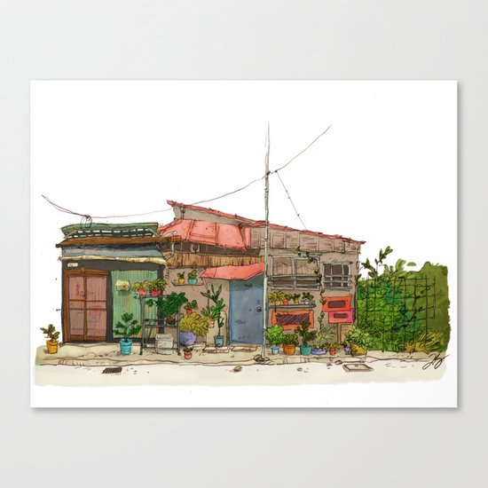 Tokyo Street 7 Canvas Print