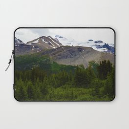 Views along the Wilcox Pass Hike in Jasper National Park, Canada Laptop Sleeve