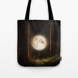 Visiting The Forest Tote Bag