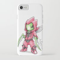 projectrocket iPhone & iPod Cases featuring The Deadliest Ninja Warrior by Randy C