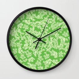 Florestan (Green) Wall Clock