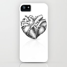 Just a heart iPhone Case