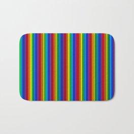 Vertical Rainbow Bath Mat