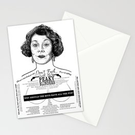 Aunt Polly 'Why Should The Boys...' Ink'd Series Stationery Cards