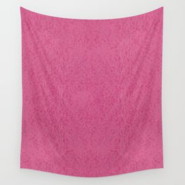 Pink rough leather texture abstract Wall Tapestry