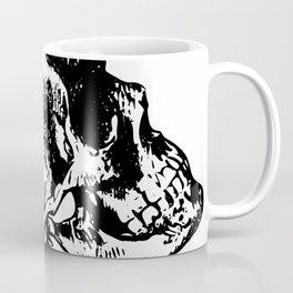 Skull Profile Coffee Mug