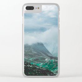 Scafell Pike 2 Clear iPhone Case
