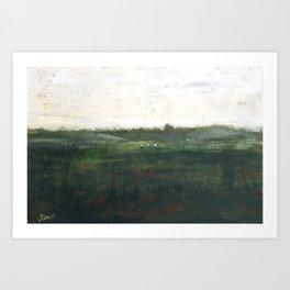 Farm Pasture Art Print