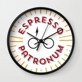 Espresso Patronum Lions Wall Clock