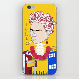 Abstract Frida Kahlo iPhone Skin