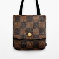 louis Tote Bags featuring LOUIS by MiliarderBrown