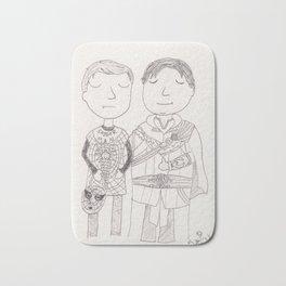 Peter and Ned - Halloween Bath Mat