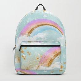 Rainbow & Unicorn Pattern 02 Backpack