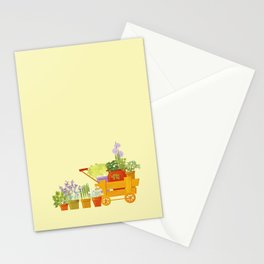 Flowers and Herbs Stationery Cards