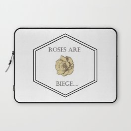 Roses are biege Laptop Sleeve