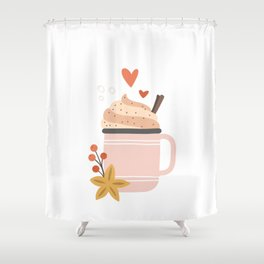 Hello Cold Days! Shower Curtain