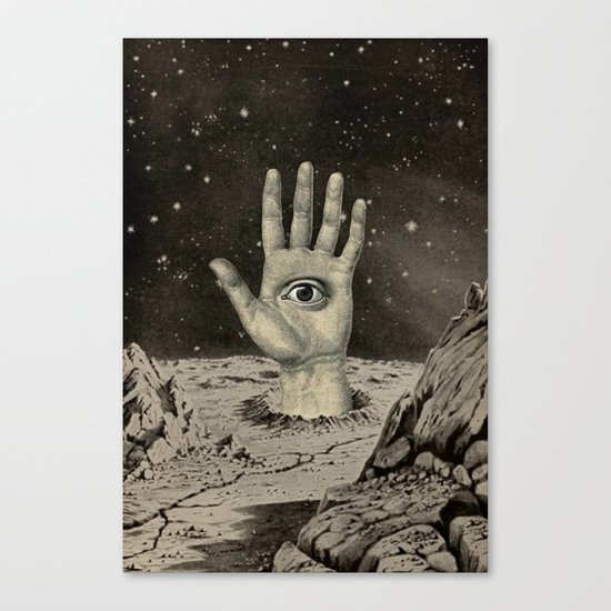 DO YOU SEE WHAT I SEE? Canvas Print