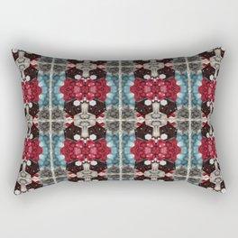 Raspberry & Chocolate Blue skies Rectangular Pillow