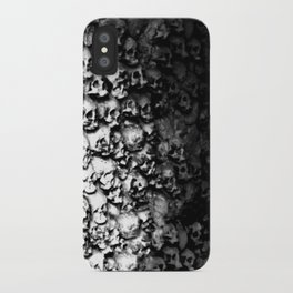 Wall of Skulls iPhone Case