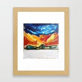 Mountains 2 by Carlota CRM Framed Art Print