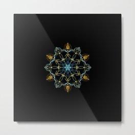 Nirvana Mandala Metal Print