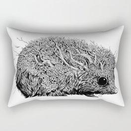 Leaf Hedgehog Rectangular Pillow