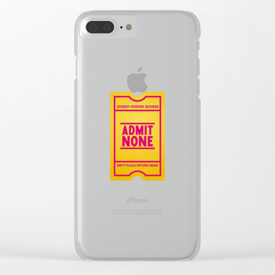 Censorship Clear iPhone Case