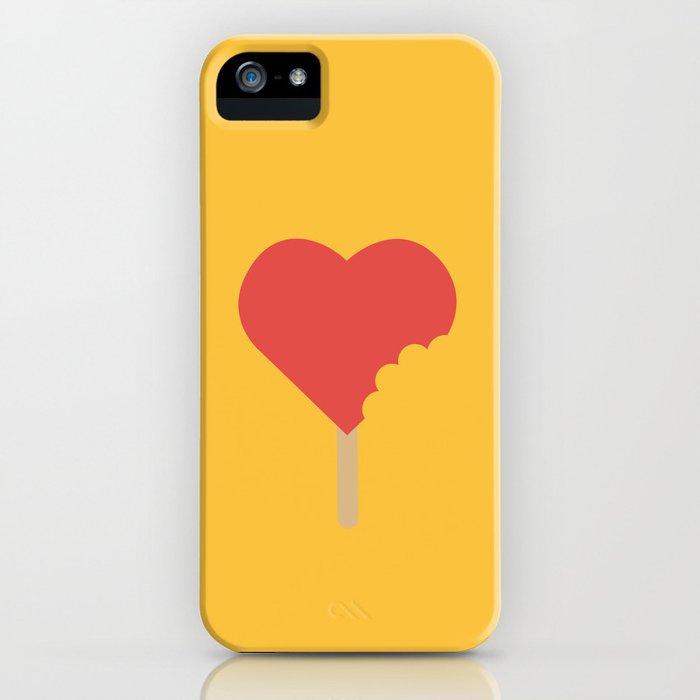 Bite of love iPhone Case
